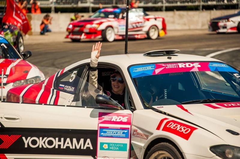 Екатерина Седых – Вице-Чемпион РДС-Восток 2017. Team Yokohama – Чемпион в командном зачете.